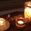 Manualidades | porta velas reciclado