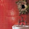 Baño diseño| azulejos imitacion cocodrilo