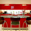 red-kitchen-cabinets