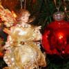 Bolas con ángeles para el árbol de Navidad 2013