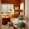 Las mejores imágenes de baños rústicos