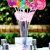 Ideas de centros de mesa para fiestas infantiles