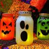 Decoracion Halloween 2014 | calabazas frascos