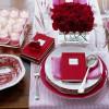 Cómo poner la mesa en San Valentín