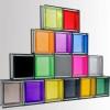 Utiliza ladrillos de vidrio para ganar luminosidad