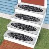 Pegatinas antideslizantes para los escalones exteriores
