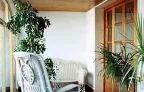 Consejo Techos y Paredes: combinar la madera con blanco