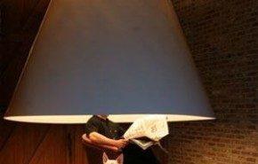 XL lamp. Luz envolvente