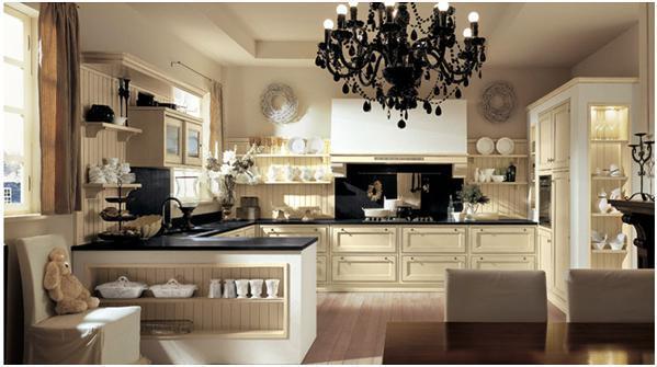 Breve diccionario de estilos de decoraci n for Cocinas clasicas elegantes