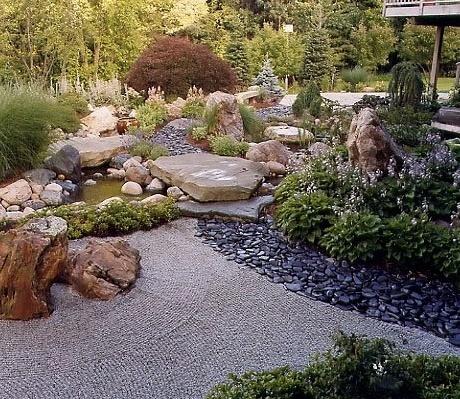Diseño jardín feng shui