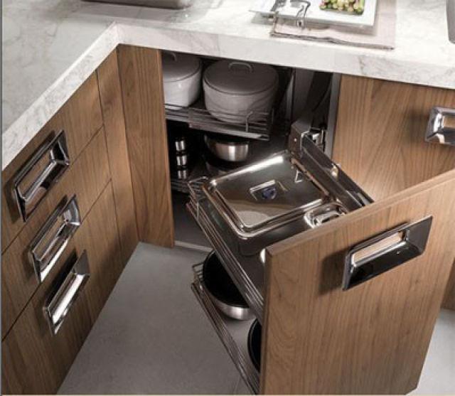 una cocina ordenada en 10 simples pasos. Black Bedroom Furniture Sets. Home Design Ideas