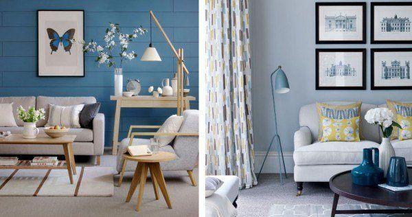 Los colores de 2014 for Pintura pared gris azulado