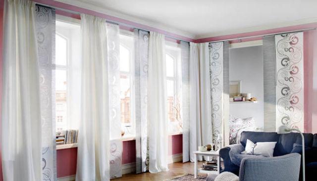 Las u00faltimas tendencias en cuestiu00f3n de cortinas se inclinan hacia la ...