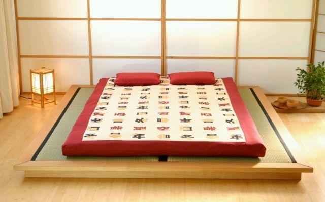 Descanso al estilo oriental el fut n - Colchon tatami ...