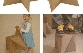 Foldschool. Muebles infantiles de cartón (GRATIS)
