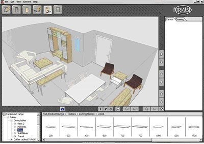 Furnish software gratuito de decoraci n de interiores - Programas decoracion interiores ...