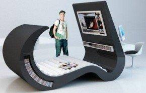 Wave chaise. Propuesta de mobiliario juvenil multifunción