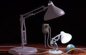 Giant Task Lamp. Para aficionados a Pixar