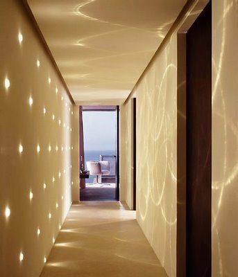 C mo decorar los pasillos - Focos pasillo ...