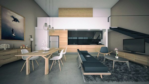 cocinas-comedor-madera