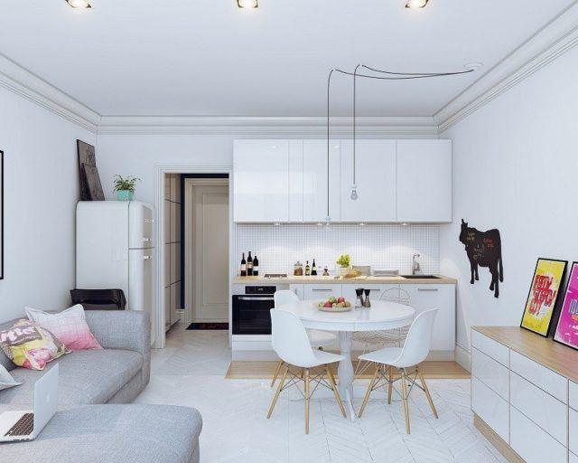 cocinas-comedor-pequena-muebles-blancos