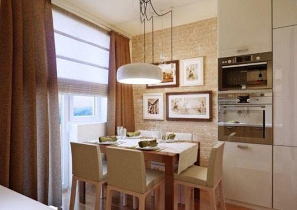 Cocinas comedor de 40 cocinas abiertas al sal n for Ver living comedor
