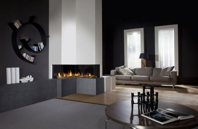 Fireplaces-modern-at-the-wall-angle
