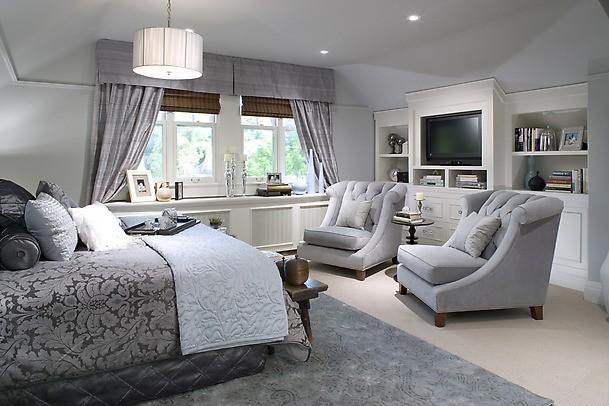 Utiliza el color gris en tu hogar grises de moda 2014 for Cortinas gris plata