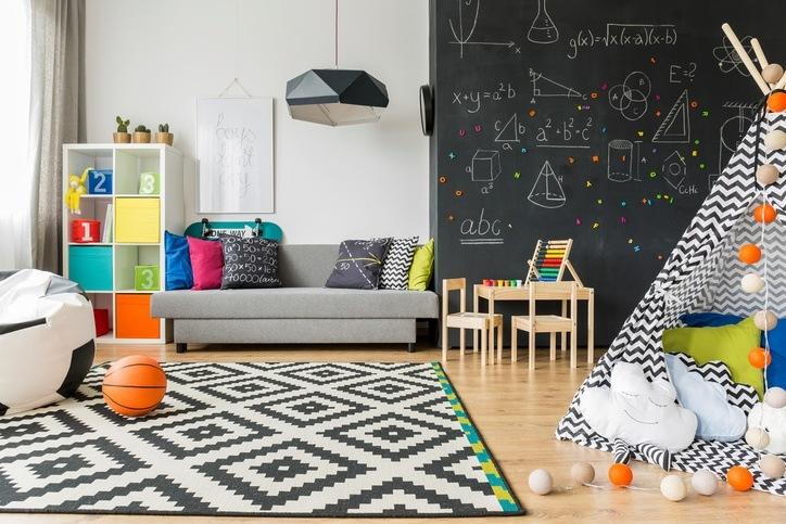 Pinturas de pizarra ideas y usos muy originales para - Ideas originales para decorar la casa ...