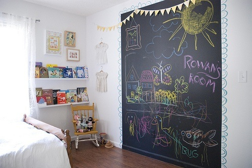 Pinturas De Pizarra Ideas Y Usos Muy Originales Para Decorar La Casa