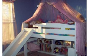 """Camas """"Loft"""" de Kids Factory para el dormitorio infantil"""