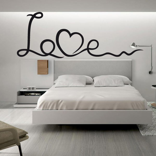 Decora con vinilos de san valent n 2018 for Pegatinas frases pared
