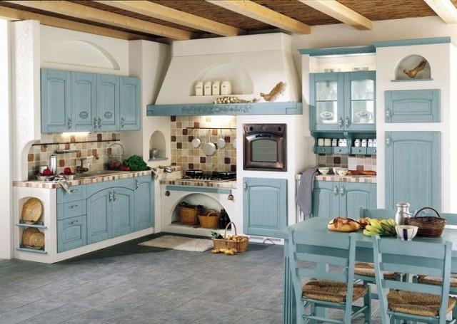 45 fotos de cocinas antiguas o cocinas vintage 2018 - Muebles restaurados vintage ...