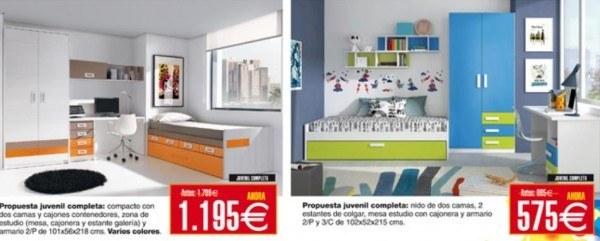 Rebajas y ofertas de verano 2014 de merkamueble for Ofertas dormitorios