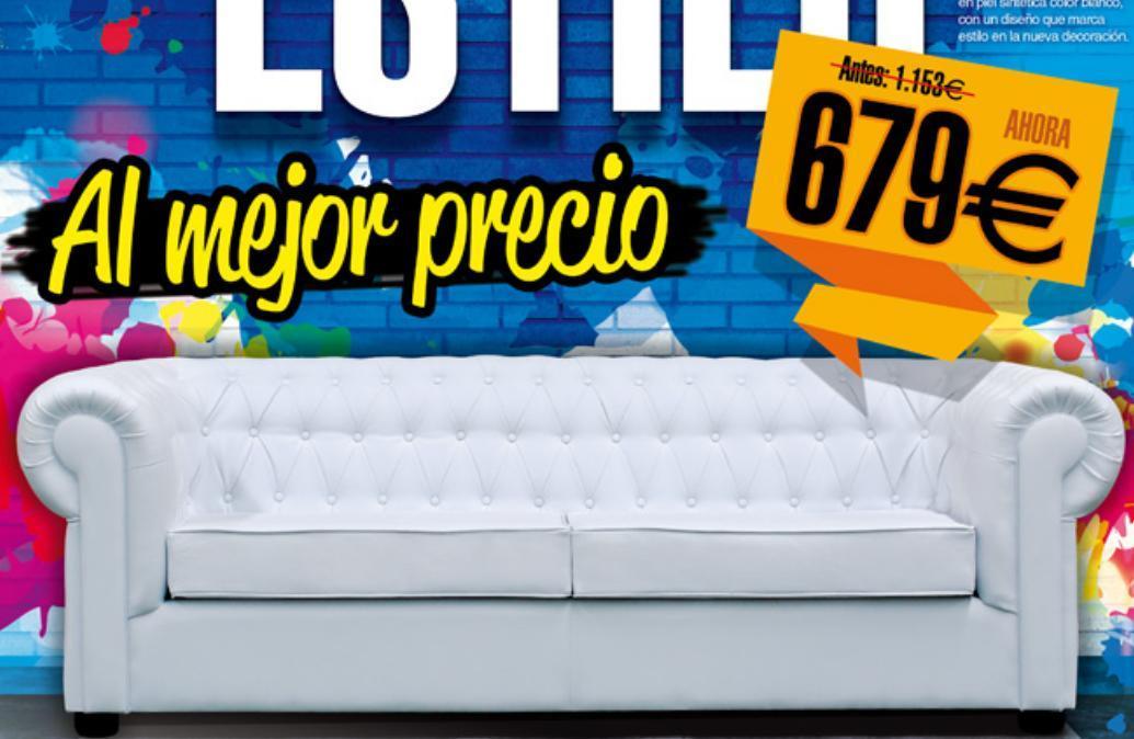 Rebajas y ofertas de verano 2014 de merkamueble - Ofertas de sofas en merkamueble ...