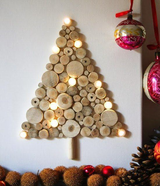 Christmas tree-ecological-wood