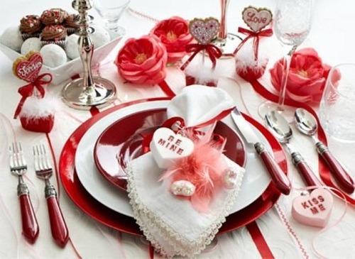 Decoracion romantica san valentin - Detalles para cena romantica ...