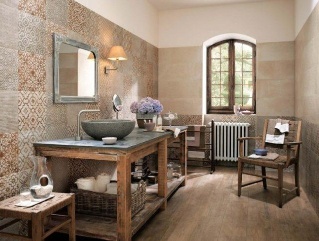azulejo-de-baño-ESTAMPADOS-Marron-dibujos