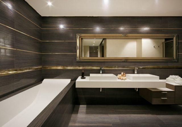 azulejos-de-banos-COLORES-baño-marron-oro-