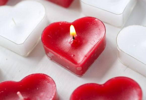 Velas Aromáticas para San Valentín 2018