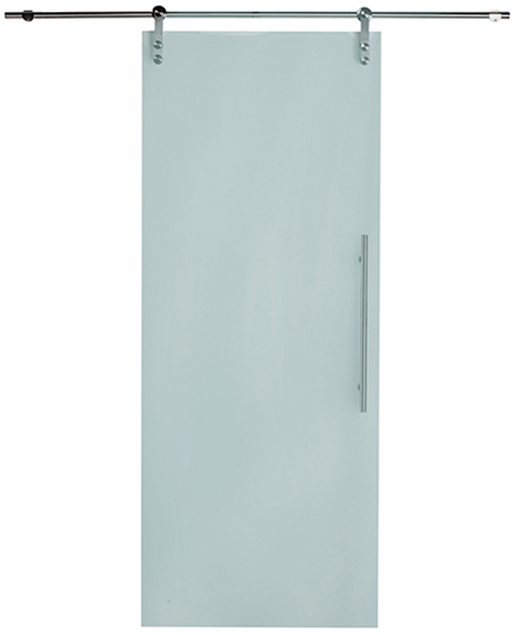 Ideas de puertas correderas de cristal - Puertas correderas banos ...