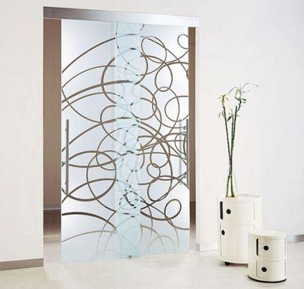Puertas de cristal - Decorar cristales de puertas ...