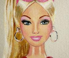 Barbie Dibujos colorear