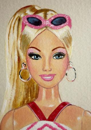 barbie-dibujos-colorear-decora-con-los-colores-de-barbie