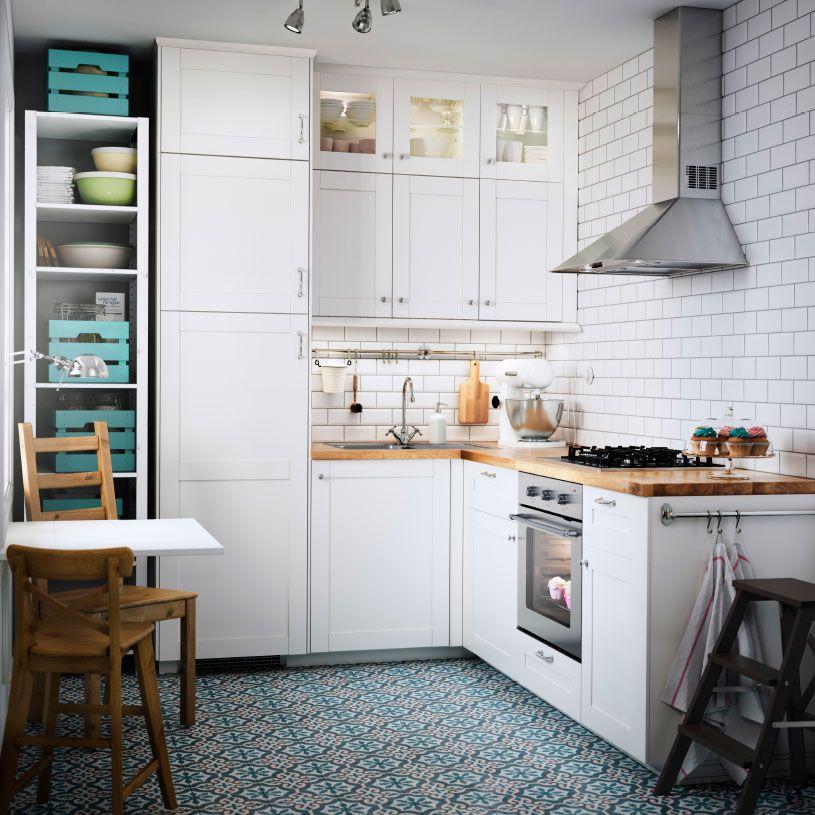 Cocina peque a ikea - Ikea mesas cocina pequenas ...