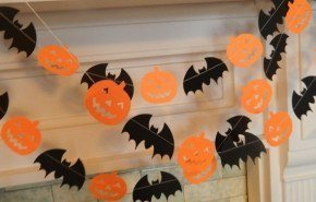 Decoracion Halloween 2014 | guirnaldas