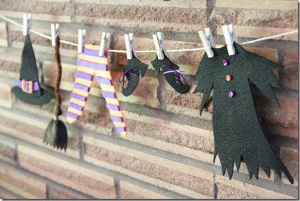 decoración-halloween-guirnaldas-2013-figuras-fieltro