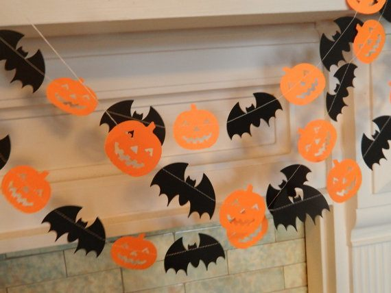 Decoracion halloween guirnaldas - Ideas decoracion halloween fiesta ...