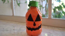 Decoracion Halloween 2015 | calabazas frascos