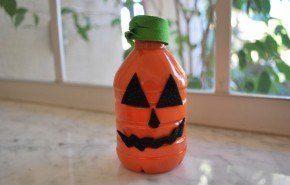 Decoracion Halloween 2016 | calabazas frascos